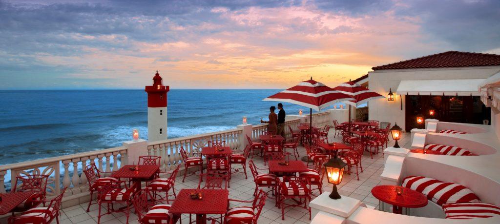 The Oyster Box Lighthouse Bar.The Oyster Box Lighthouse Bar